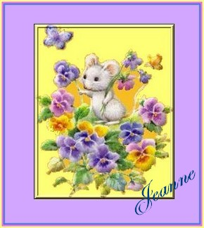 signatures-Mice Pansies