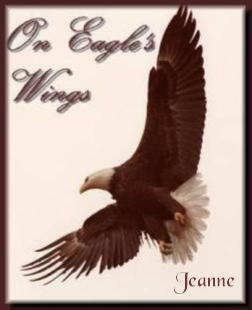 signatures-jeanne on eagle wings